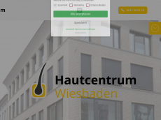 Screenshot der Domain allergologe-wiesbaden.de