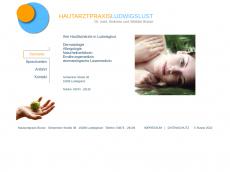 Screenshot der Domain allergologie-ludwigslust.de