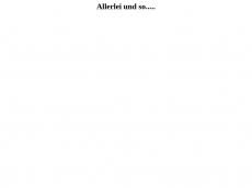 Screenshot der Domain allerlei-und-so.de