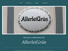 Screenshot der Domain allerleigruen.de