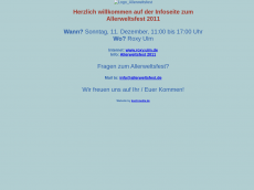 Screenshot der Domain allerweltsfest.de