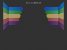 Screenshot der Domain alles-anders.de
