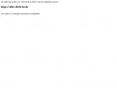 Screenshot der Domain alles-dicht-in-nrw.de