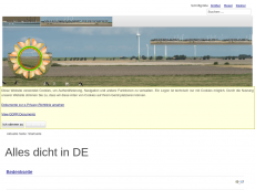 Screenshot der Domain alles-dicht-in.de
