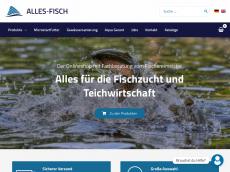 Screenshot von alles-fisch.de