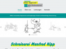 Screenshot der Domain alles-hippsch.de
