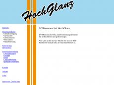 Screenshot der Domain alles-hochglanz.de