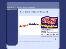 Screenshot der Domain alles-in-orthnung.de