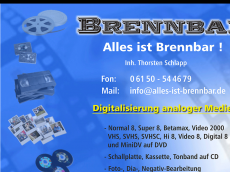Screenshot der Domain alles-ist-brennbar.de