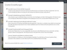 Screenshot der Domain alles-ist-relativ.de