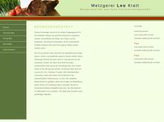 Screenshot der Domain alles-klatt.de