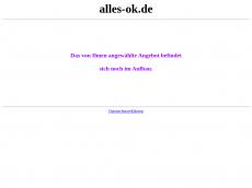 Screenshot der Domain alles-ok.de