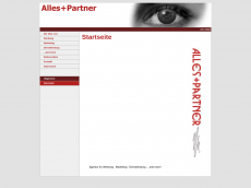 Screenshot der Domain alles-partner.de