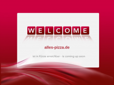 Screenshot der Domain alles-pizza.de