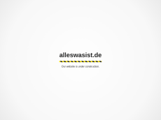 Screenshot der Domain alles-was-ist.de