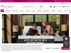 Screenshot der Domain alles-zum-schlafen.de
