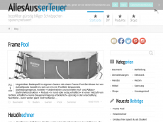 Screenshot der Domain allesausserteuer.info