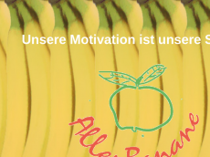 Screenshot der Domain allesbanane.eu
