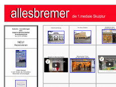 Screenshot der Domain allesbremer.de