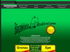 Screenshot der Domain allesdicht-gronau.de