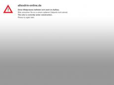 Screenshot der Domain allesdrin-online.de