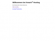 Screenshot der Domain alleuntereinenhut.de