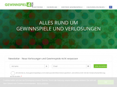 Screenshot der Domain alleverlosungen.at
