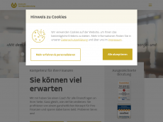 Screenshot der Domain allfinanzanlagen.de