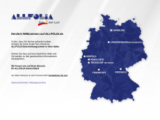 Screenshot der Domain allfolia.org