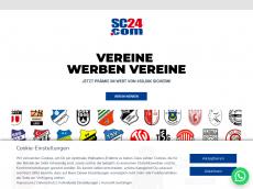 Screenshot der Domain allforfitness.de