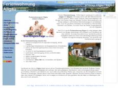 Screenshot der Domain allgaeu-bayern-fewo.de