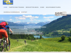 Screenshot der Domain allgaeu-bikers.de