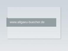 Screenshot der Domain allgaeu-buecher.de