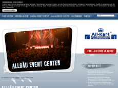 Screenshot der Domain allgaeu-event-center.de