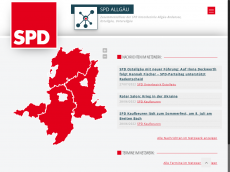 Screenshot der Domain allgaeu-spd.de