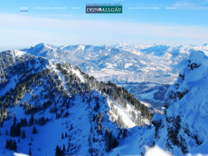 Screenshot der Domain allgaeu-tourist.de