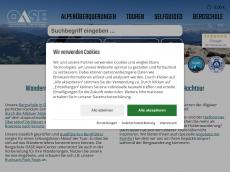 Screenshot der Domain allgaeudurchquerung.de