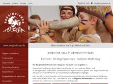 Screenshot von allgaeuer-indianerland.de