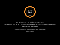 Screenshot der Domain allgaeuerhof-ratingen.de