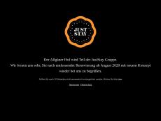Screenshot der Domain allgaeuerhof-ratingen.de