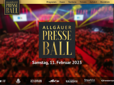 Screenshot der Domain allgaeuerpresseball.de
