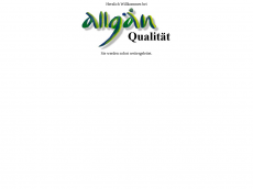 Screenshot der Domain allgaeuqualitaet.de