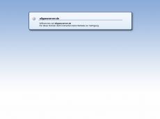 Screenshot der Domain allgaeuserver.de
