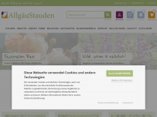 Screenshot der Domain allgaeustauden.de