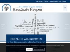 Screenshot der Domain allgemeinmedizin-bielefeld.de