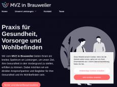 Screenshot der Domain allgemeinmedizin-brauweiler.de