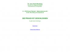 Screenshot der Domain allgemeinmedizin-goch.de