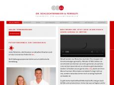 Screenshot der Domain allgemeinmedizin-huerth.de