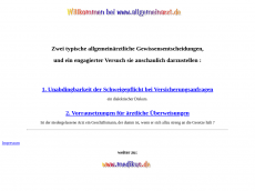 Screenshot der Domain allgemeinmediziner.de