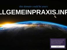 Screenshot der Domain allgemeinpraxis.info